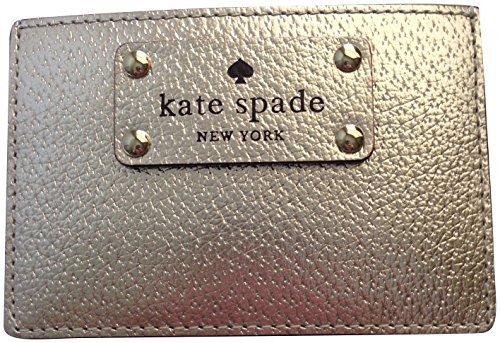 Kate Spade Wellesley Graham Card Case Gold