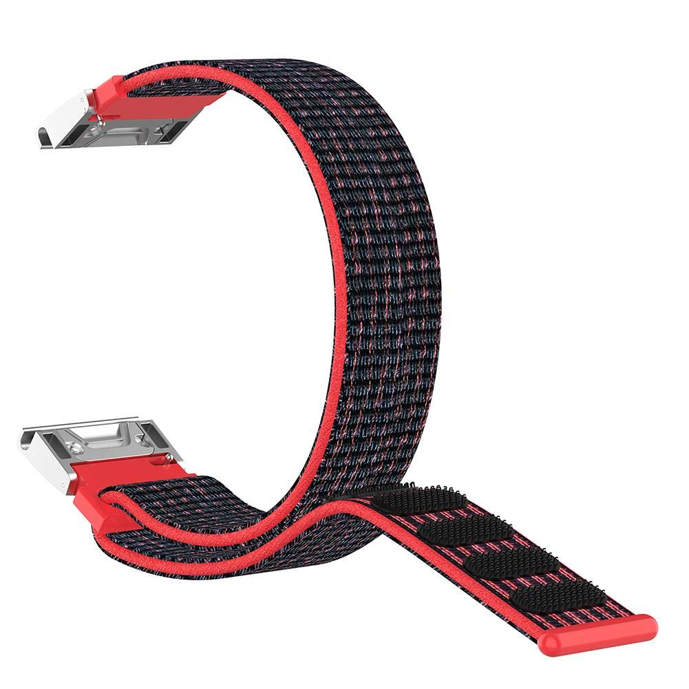 Garmin Fenix 5 Forerunner 935 Quatix 5 Sapphire Approach S60 Quick Release Nylon Sports Band Strap Wrist Band