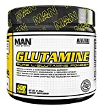 MAN Sports 100% Pure L-Glutamine Powder, Neutral, 500 Gram