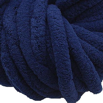Amazon com: Chunky Knit Chenille Yarn, Arm Knit Yarn, Arm Knit Yarn