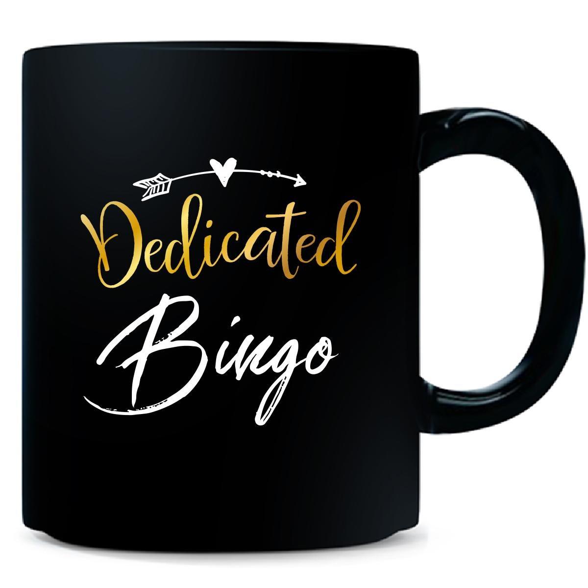 Dedicated Bingo Name Mothers Day Present Grandma - Mug by My Family Tee