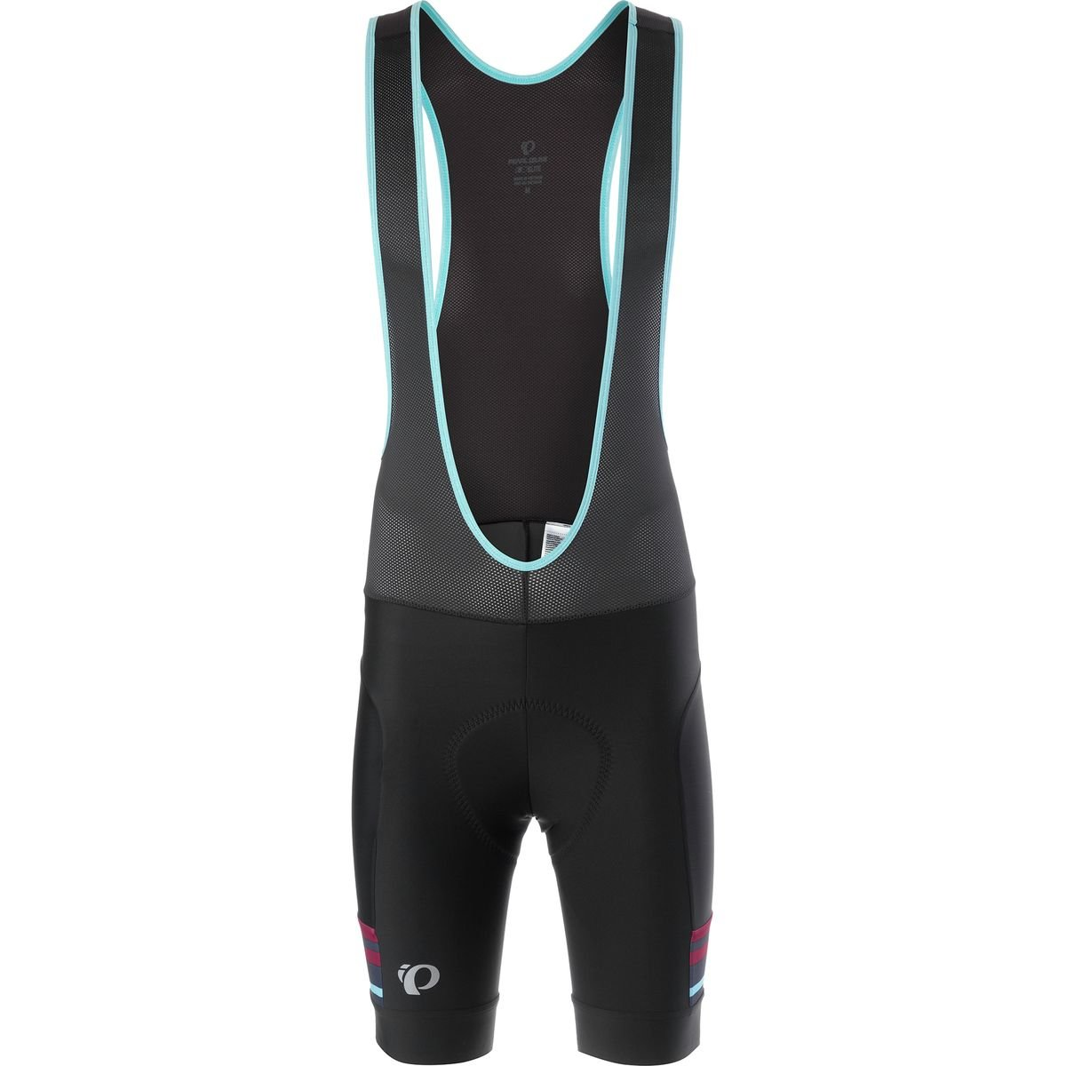 Pearl iZUMi Elite Escape Bib Shorts, Black/Blue Mist, Small
