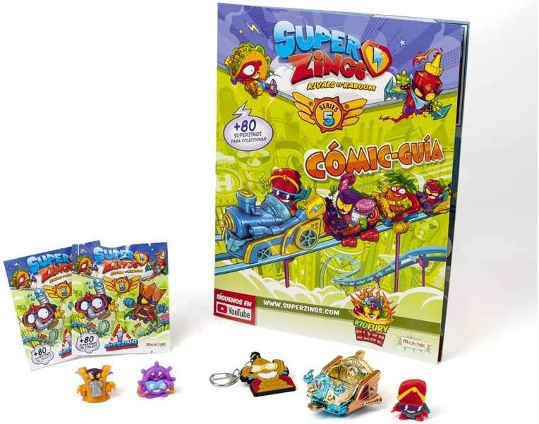 Magic Box- Pack SUPERZINGS Serie 5 Cuaderno y Libros para Colorear (MAG01135): Amazon.es: Juguetes y juegos