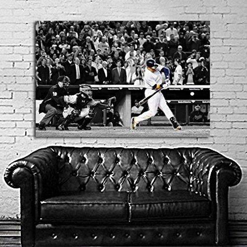 SDK mural #07 Poster Mural Derek Jeter Baseball Sport Athlete 40x60 inch (100x150 cm) Adhesive Vinyl
