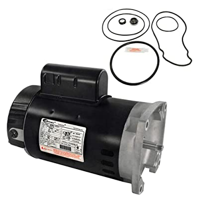 Puri Tech Replacement Motor Kit for Pentair Whisperflo 1.5HP WF-26 AO Smith B2854 w/GO-KIT-32: Garden & Outdoor