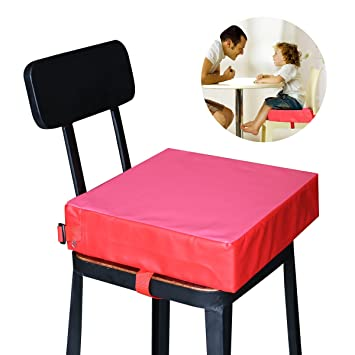 Nuolux Children Kids Dining Chair Booster Cushion Baby Seats Red