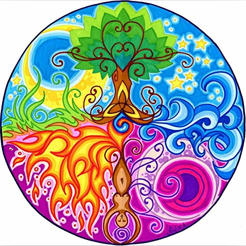 Ant-Tree 11.81''x11.81'' Magic Tree 5D DIY Diamond Painting Kit Full Square Rhinestone Embroidery Cross Stitch Arts Craft for Home Wall Decoration by Ant-Tree