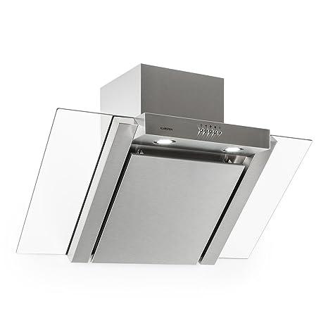 Klarstein RGL90WS Cappa Aspirante in vetro e design moderno (90 cm ...
