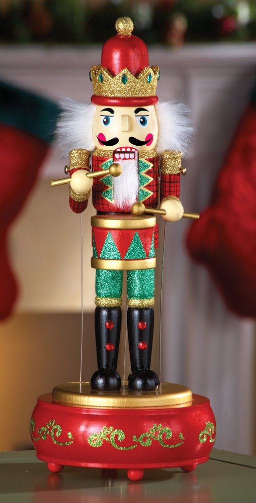 Collections Etc Musical Animated Nutcracker Holiday Decor by Collections Etc (Image #1)