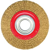 Silverline 125mm Bench Grinder Wire Wheel Polishing Grinding