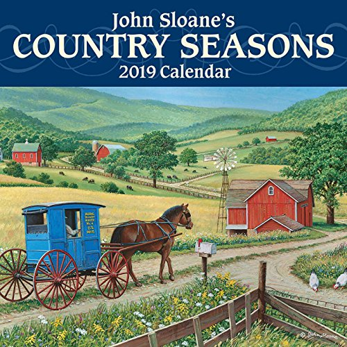 R.e.a.d John Sloane's Country Seasons 2019 Mini Wall Calendar<br />T.X.T