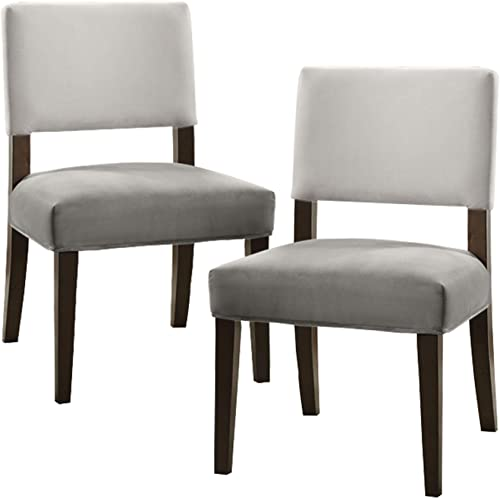 Homelegance Jacinta Two-Tone Fabric Accent Chair Set of 2