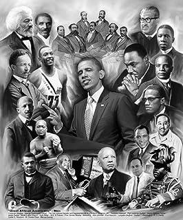 Amazoncom Hse The Pioneers Poster Mandela Malcolm X Obama