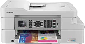 Brother MFC-J805DW XL Extended Print INKvestmentTank Color Inkjet All-in-One Printer with Mobile Device and Duplex Printing with Up To 2-Years of Ink In-box