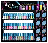 L.A. Colors Nail Art Lacquer - Art Deco - All 22 Colors