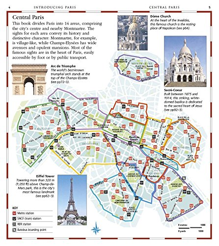 Paris Pocket Map and Guide DK Eyewitness Travel Guide: Amazon.de: DK ...