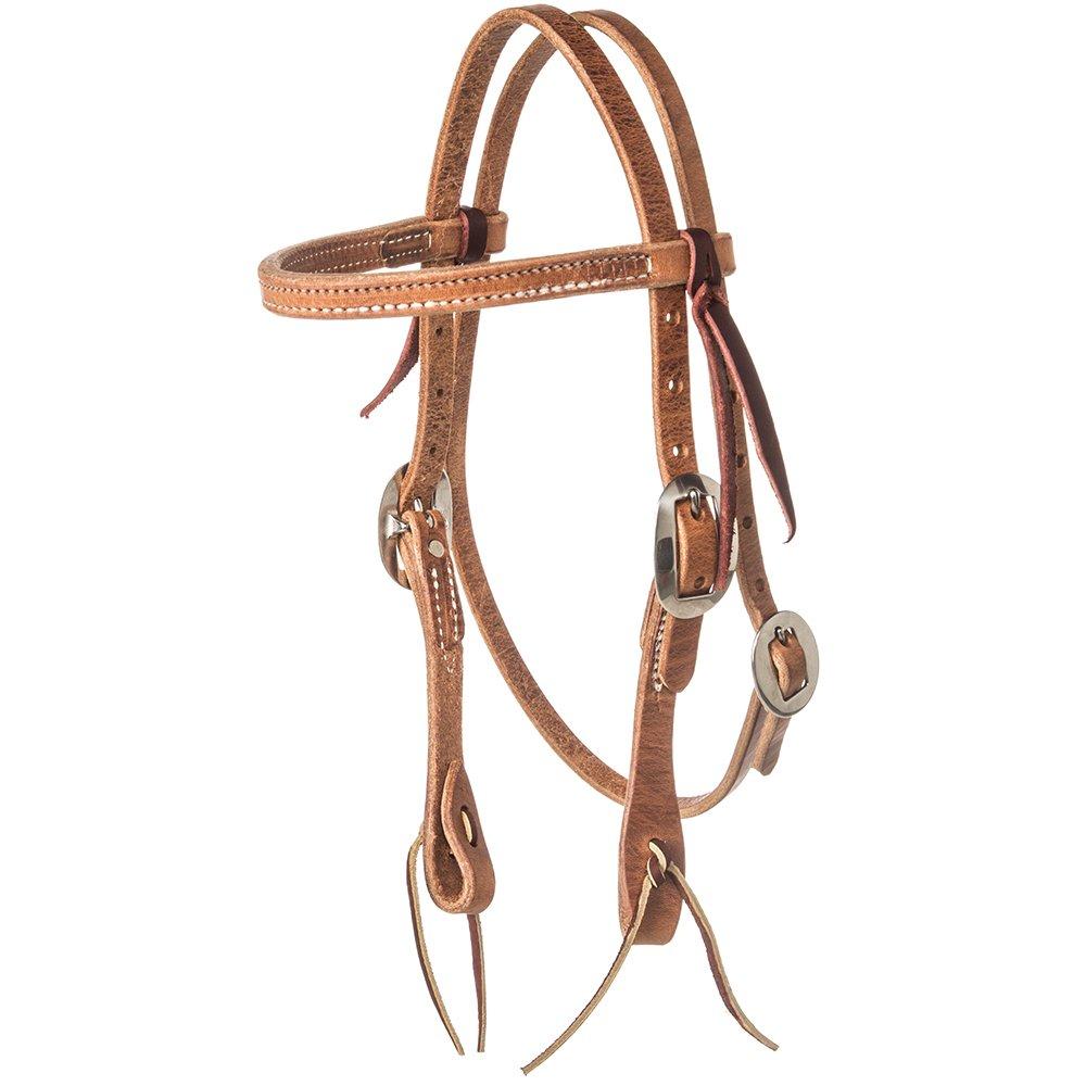 NRS Pony Straight Browband Headstallハーネス   B073JR6MRW