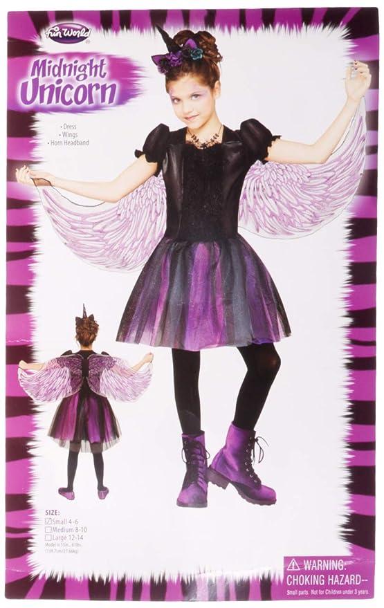 6347c501a9a2 Amazon.com: Fun World Moonlight Unicorn Costume for Girls - Choose Size:  Toys & Games