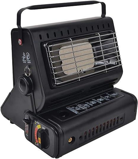 Qin Estufa portátil de calefacción de Gas pequeña al Aire ...