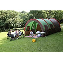 Hewolf 8-10 Men Waterproof Large Camping Tent for Company Party & Class Reunion Family Recreations Beach