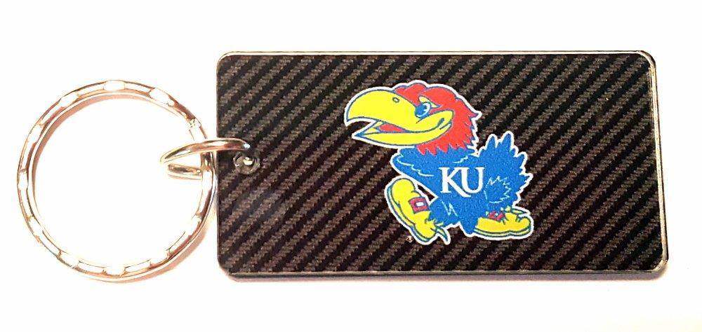 University of S65243 Keychain Rectangle WinCraft Kansas