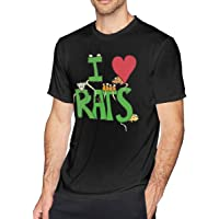 Affordable shop I Love Rats Men's Short Sleeve T-Shirt M