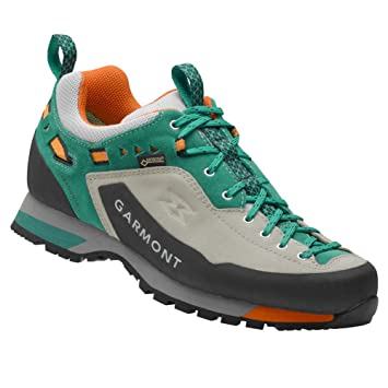 Dragontail LT GTX Shoes Women Light Grey/Teal Green Schuhgröße UK 8
