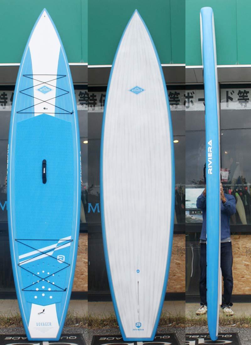 RIVIERA (リビエラ) VOYAGERモデル サーフボード [ST.BLUE] 12'6