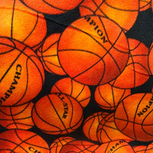 - Licensed All Star Champion Basketball Anti Pill Sports Theme Fleece Fabric, 60
