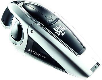 Dirt Devil M137 Gator - Aspiradora de mano con batería (18 V), color negro y plateado: Amazon.es: Hogar