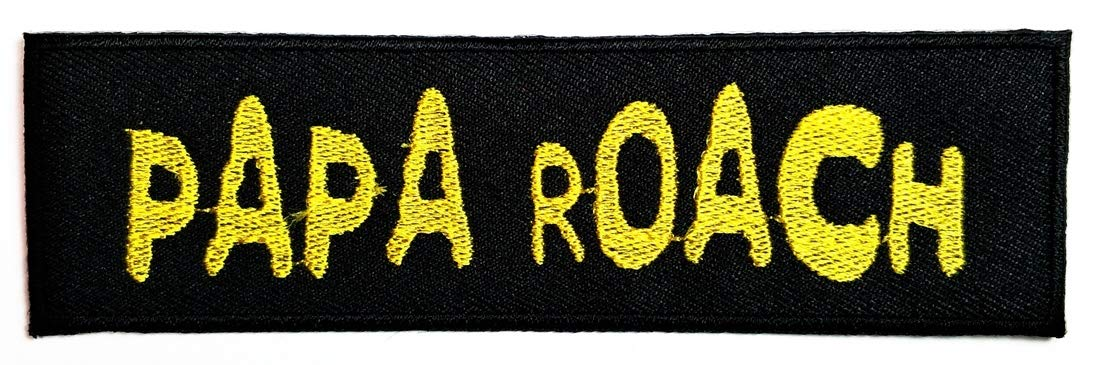 Band B Yellow Patch Pop Rock Musicians/ Music Old School Heavy Metal Band Embroidered Applique Sew Iron On Patch Badge Backpack Bags Hat Jeans Shoes T-Shirt Costume