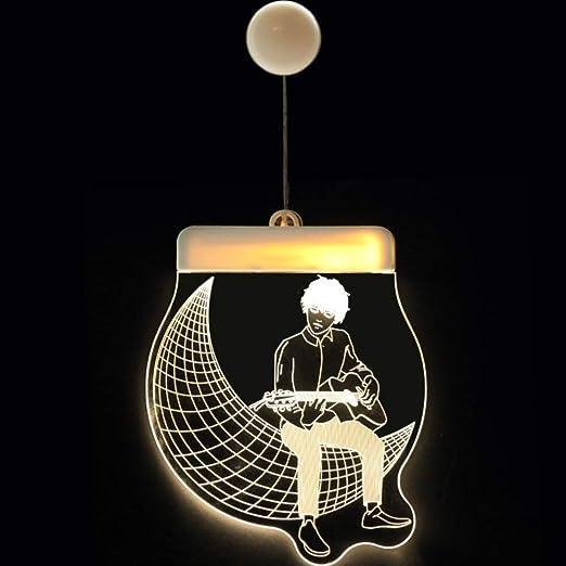 Guirnaldas Luces LED Cadena de acrílico decorativo de Navidad ...