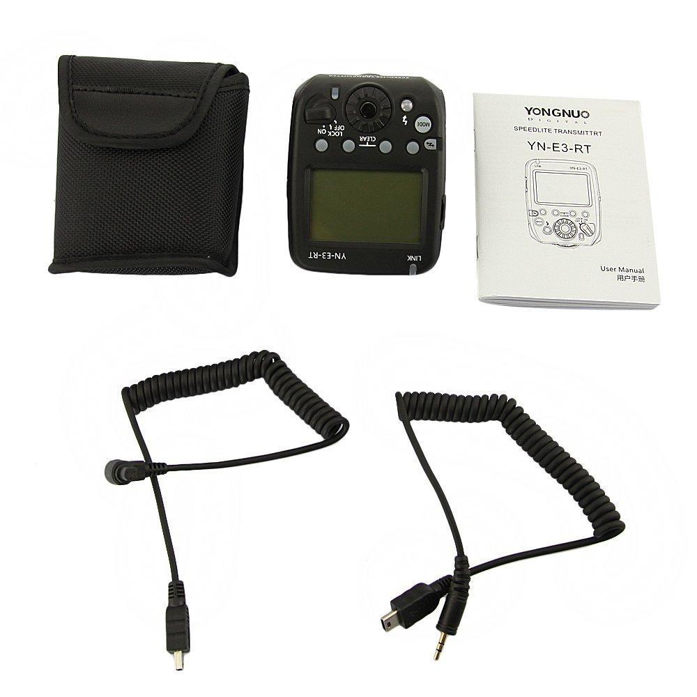 YONGNUO trigger flash trigger YN-E3-RT E3-RT E3RT TTL Flash Speedlite Wireless Transmitter for Canon 600EX-RT