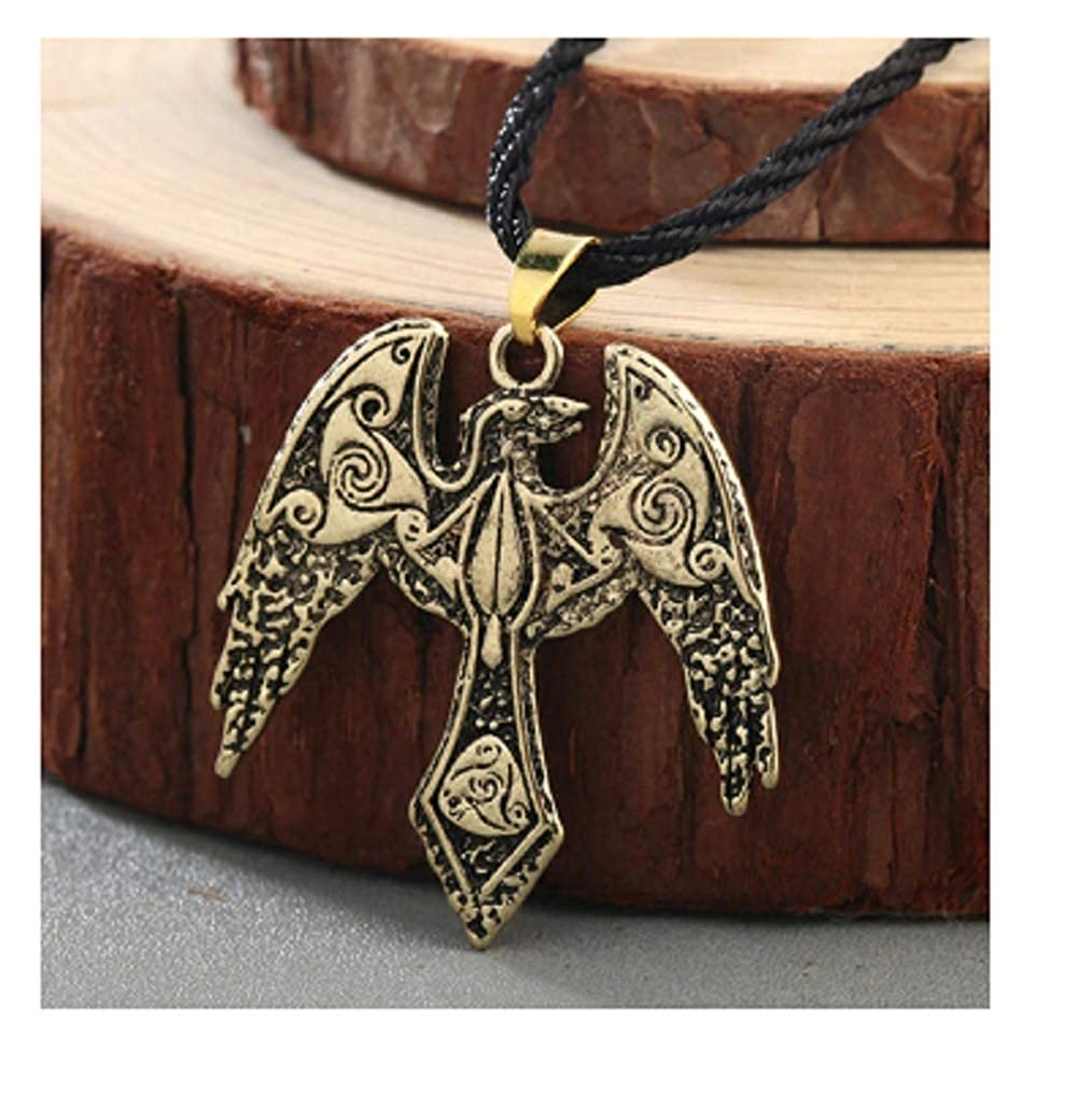 Design 8 Hwealth Norse Statement Viking Necklace