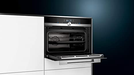 Siemens iQ700 CB635GBS3 - Horno (Medio, Horno eléctrico, 47 L, 300 ...