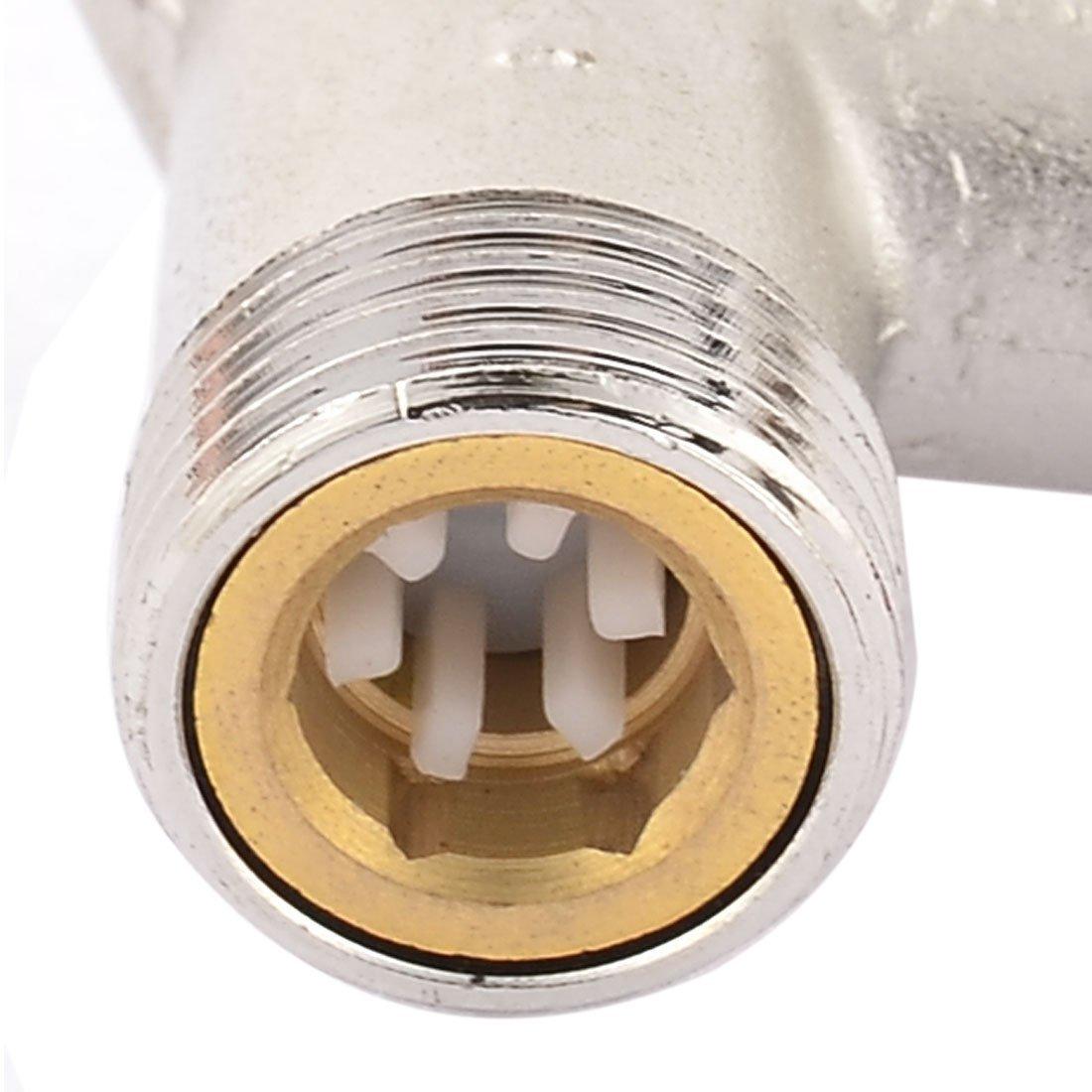 De descompresión eDealMax Metal calentador de agua eléctrico a comprobar la calidad de la válvula 0.75Mpa: Amazon.com: Industrial & Scientific