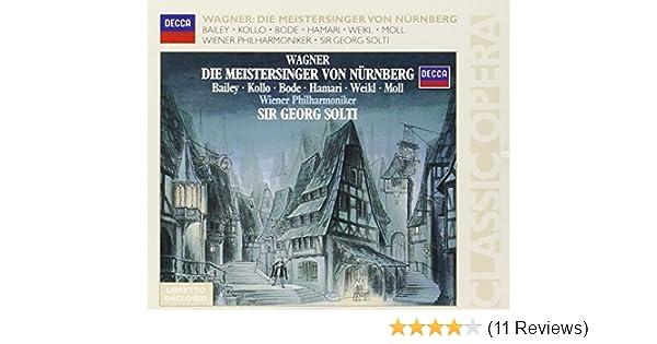 Richard Wagner Sir Georg Solti Die Meistersinger Von N Rnberg