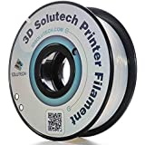 3D Solutech ST175CLPLA Natural Clear 1.75mm 3D Printer PLA Filament, Dimensional Accuracy +/- 0.03 mm, 2.2 LBS (1.0KG…