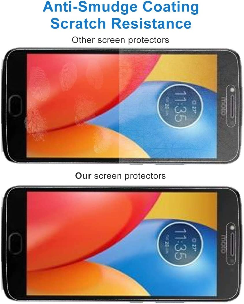 No Retail Package GzPuluz Glass Protector Film 50 PCS for Motorola Moto C 0.3mm 9H Surface Hardness 2.5D Explosion-Proof Tempered Glass Full Screen Film