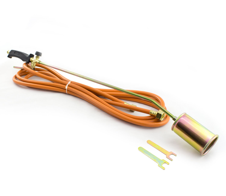 58KW Abflammgerät Unkrautvernichter Gasbrenner Dachbrenner Pappe (PAL-86CM) Falon-Tech
