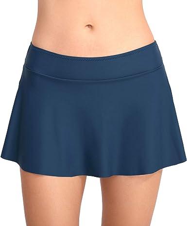 Fandecie Mujer Shorts Bañadores Falda Bikini Trajes de Baño Shorts ...
