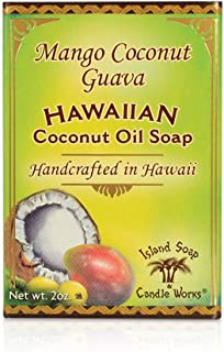 product image for Island Soap & Candle Works Handmade Coconut Soap, Mango Coconut Guava