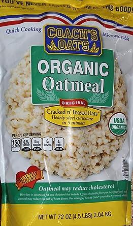 Coachs Oats100% harina de avena orgánica de grano entero ...
