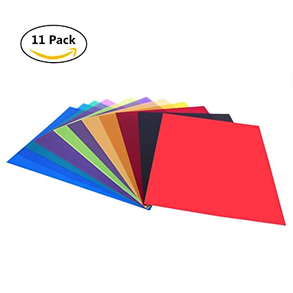 Amazon.com: Etyhf 11 Pack Colored Overlays Transparency Color Film ...