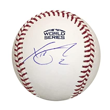 4e8a0b911e0 Image Unavailable. Image not available for. Color  Xander Bogaerts Boston  Red Sox Autographed 2018 World Series ...