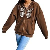 Meladyan Women's Long Sleeve 1/4 Zipper Stand Collar Sweatshirts Color Block Letter Graphic Prints Pullover
