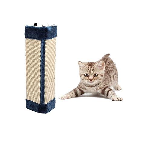 Esquina para proteger la pared del elfo de mascotas, almohadilla para rascar gatos, juguete