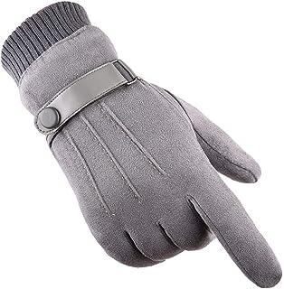 Gants Tricotés Thermiques Doublés En Polaire Antidérapante D/'écran Tactile Gants