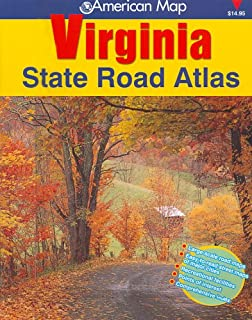 American Map Virginia State Road Atlas American Map Regional - Road map virginia