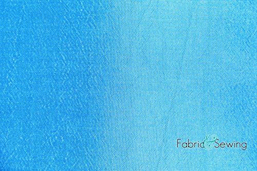 Sapphire Blue Two-Toned Taffeta Lining Fabric Polyester 4.5 Oz (Sapphire Taffeta)